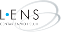 Lens optika Logo